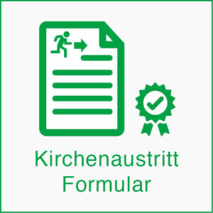 Kirchenaustritt Formular